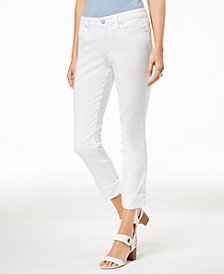 Maison Jules Cuffed Jeans, Created for Macy's