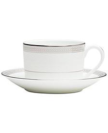 Olann Platinum Teacup & Saucer