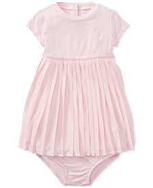 Ralph Lauren Pleated Shirtdress, Baby Girls