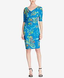 Lauren Ralph Lauren Paisley-Print Dress