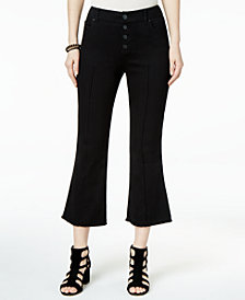 I.N.C. Cropped Flared Jeans, Created for Macy's