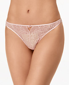 b.tempt'd Undisclosed Keyhole Lace Thong 942257