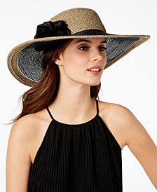 Nine West Flower Super-Floppy Hat