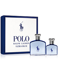 Ralph Lauren Men's 2-Pc. Polo Ultra Blue Gift Set