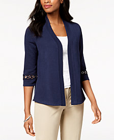 JM Collection Embellished Cardigan, Created for Macy's