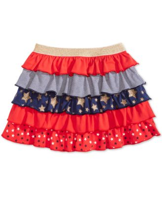 Toddler Girls Ruffled Scooter Skirt, Created for Macy's