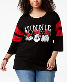 Mad Engine Plus Size Minnie Mouse Expressions T-Shirt
