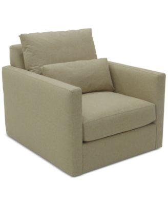 Elmie 34'' Fabric Armchair, Created for Macy's