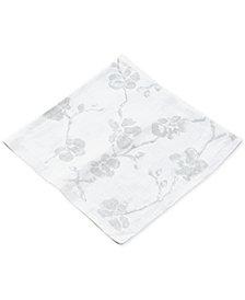 Michael Aram Orchid Printed Linen Dinner Napkin