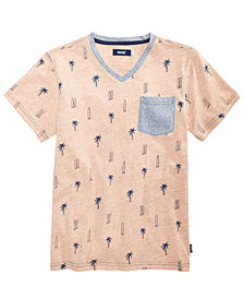 Univibe Big Boys Printed Pocket T-Shirt
