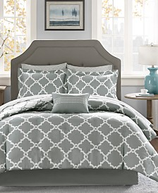 Madison Park Essentials Merritt Reversible 7-Pc. Twin Comforter Set
