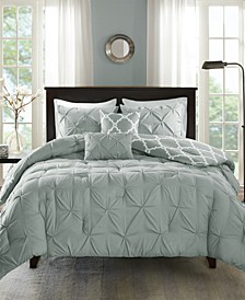 Kasey Reversible 5-Pc. King/California King Comforter Set