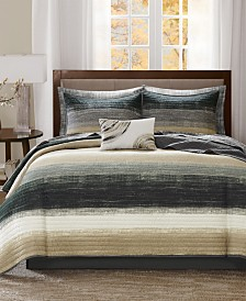Madison Park Essentials Saben 8-Pc. Full Coverlet Set