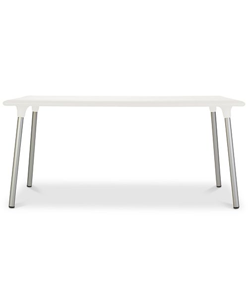 Furniture New Flash Outdoor Rectangular Side Table, Quick Ship