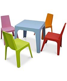 Julieta Kids 5-Pc. Dining Set