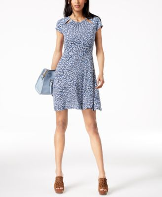 Cocktail Dress with Cutouts