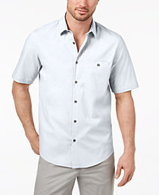 Alfani Men's Solid Pocket Shirt, Created for Macy's