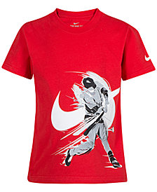 Nike Little Boys Baseball-Print Cotton T-Shirt