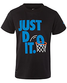 Nike Little Boys Just Do It-Print T-Shirt