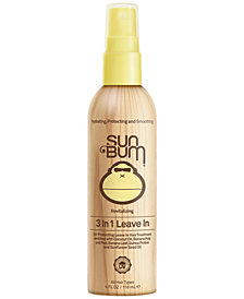 Sun Bum 3 In 1 Leave-In Hair Spray, 4-oz.