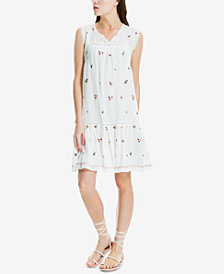 Max Studio London Embroidered Shift Dress, Created for Macy's