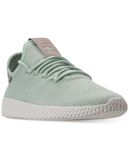 2b2c999f4 ... adidas Women s Originals Pharrell Williams Tennis HU Casual Sneakers  from Finish ...