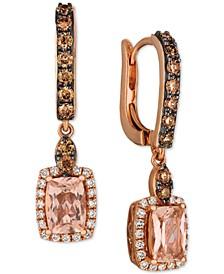 Morganite (1-1/3 ct. t.w.) & Diamond (3/4 ct. t.w.) in 14k Rose Gold