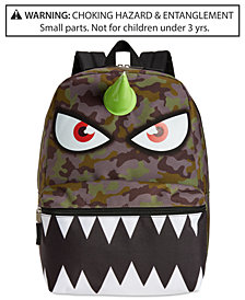 Global Design Concepts Camo Monster Backpack, Little & Big Kids