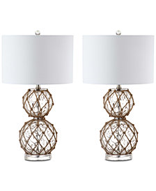 Safavieh Set of 2 Benno Table Lamps