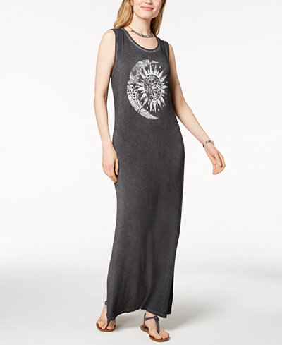 Style & Co Graphic Maxi Dress, Created for Macy's