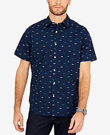 Nautica Men's Breakwater Printed Classic Fit Shirt