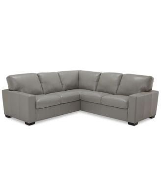 furniture ennia 2 pc leather sectional sofa created for macy s rh macys com macy's sectional sofa bed macy's sectional sofas on sale