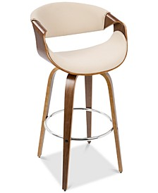 Curvini Swivel Barstool