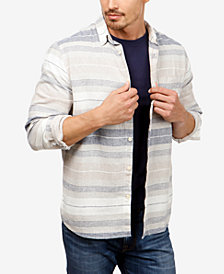 Lucky Brand Men's Stripe Pocket Shirt