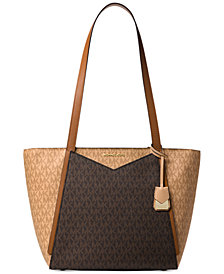 Michael Kors Signature Whitney Medium Tote