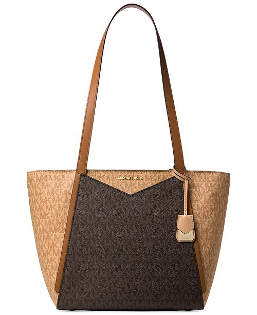 0275542ec7a Michael Kors Signature Whitney Medium Tote - Handbags   Accessories ...