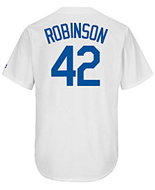 Majestic Men's Jackie Robinson Los Angeles Dodgers Coop Player Replica ES Cool Base Jersey