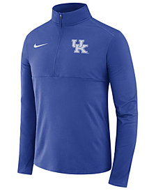 Nike Men's Kentucky Wildcats Performance Half-Zip Pullover