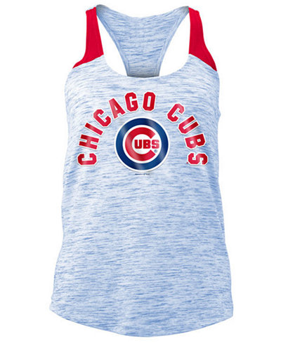 5th & Ocean Women's Chicago Cubs Space Dye Tank