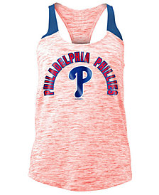 5th & Ocean Women's Philadelphia Phillies Space Dye Tank