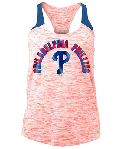 5th & Ocean Women's Philadelphia Phillies Space Dye Tank