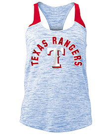 5th & Ocean Women's Texas Rangers Space Dye Tank