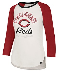 '47 Brand Women's Cincinnati Reds Vintage Raglan T-Shirt