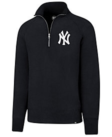 '47 Brand Men's New York Yankees Headline Quarter-Zip Pullover
