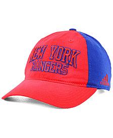 adidas New York Rangers Sandblasted Slouch Cap