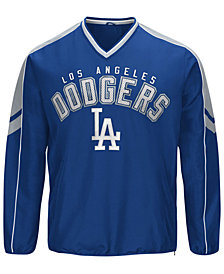 G-III Sports Men's Los Angeles Dodgers Free Agent V-Neck Pullover