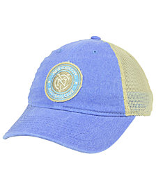 adidas New York City FC Bleached Trucker Cap