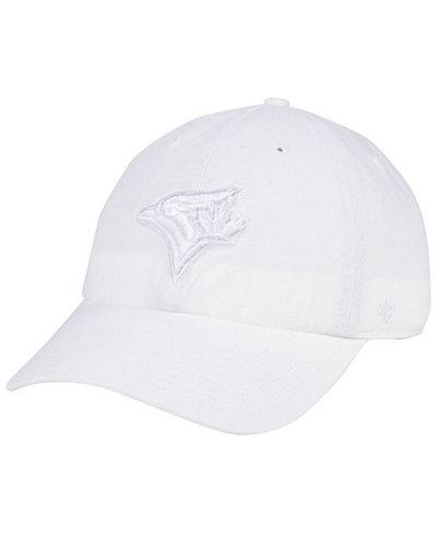 '47 Brand Toronto Blue Jays White/White CLEAN UP Cap