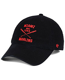 '47 Brand Miami Marlins Axis CLEAN UP Cap