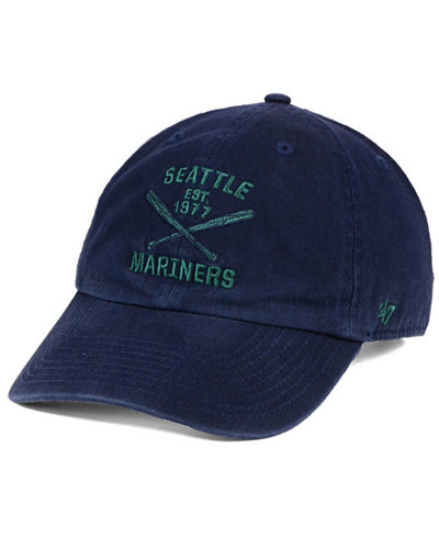 '47 Brand Seattle Mariners Axis CLEAN UP Cap